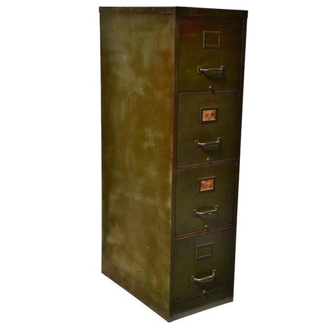 American Metal Products Corp Filing Cabinet