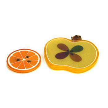 Apple and Orange Trivets Set of 2