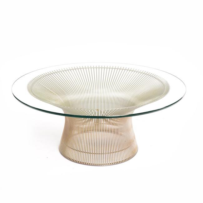 Platner Coffee Table - Chrome