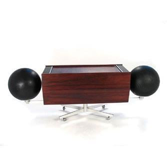 Clairtone Stereo with Attached Speakers