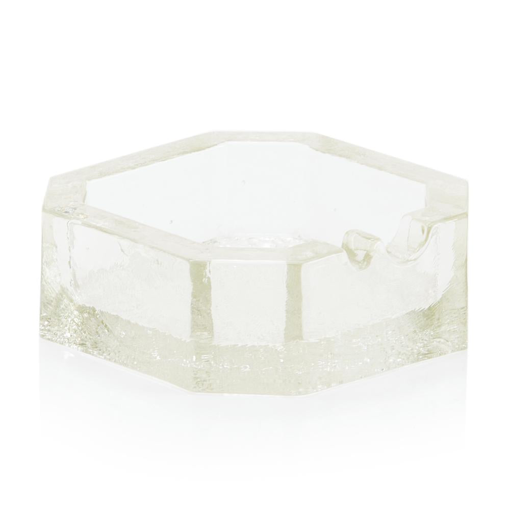 Clear Square Ashtray