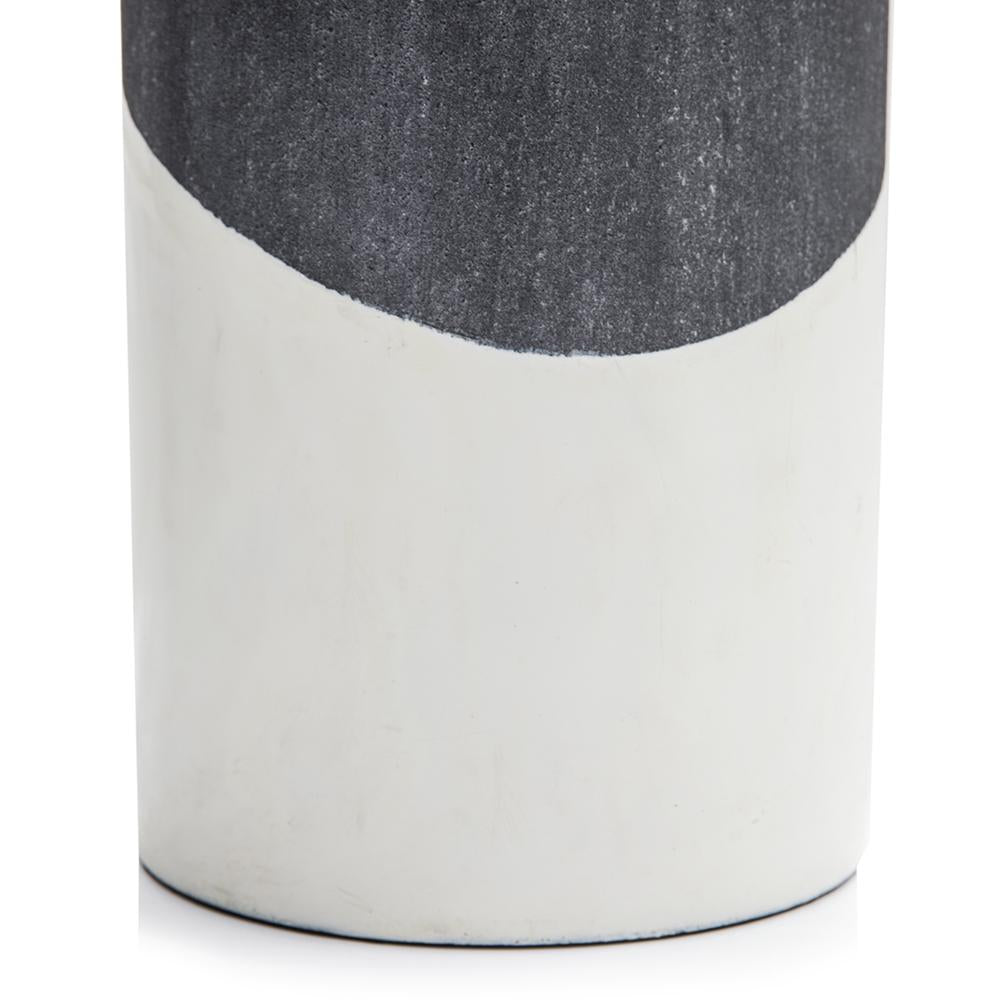 Black BFA Ceramic Vase Litton