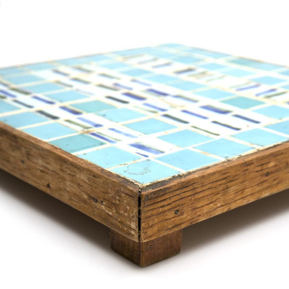 Blue Aqua BFA Ceramic Square Tile