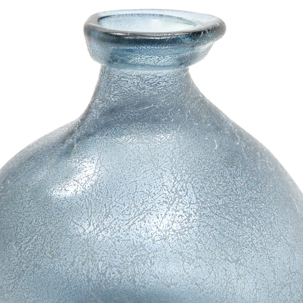 Blue BFA Glass Organic Vase