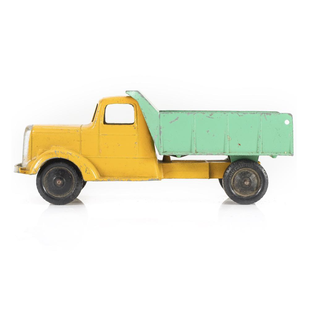 Yellow BFA Rustic Toy Pick Up Truck