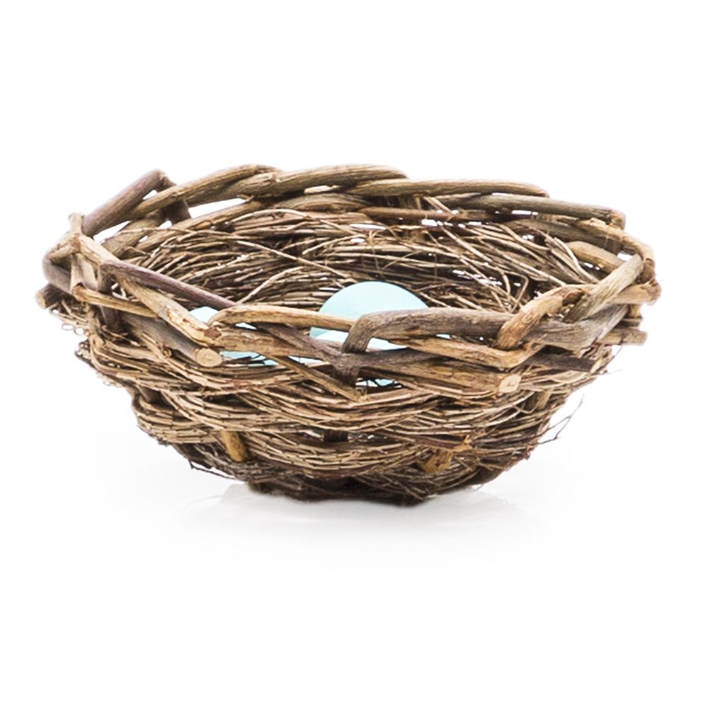 Tan BFA Wicker Birds Nest