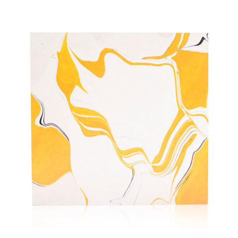 110-1131 Yellow White Black Swirl