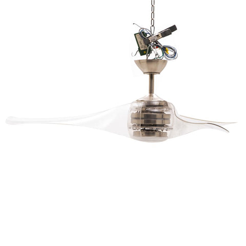 Clear Jellyfish Ceiling Fan