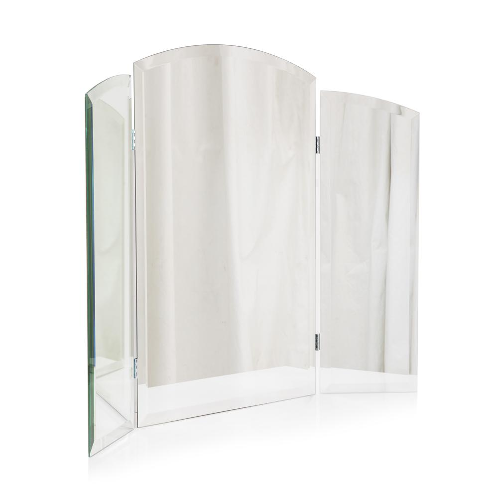 Trifold Arched Mirror