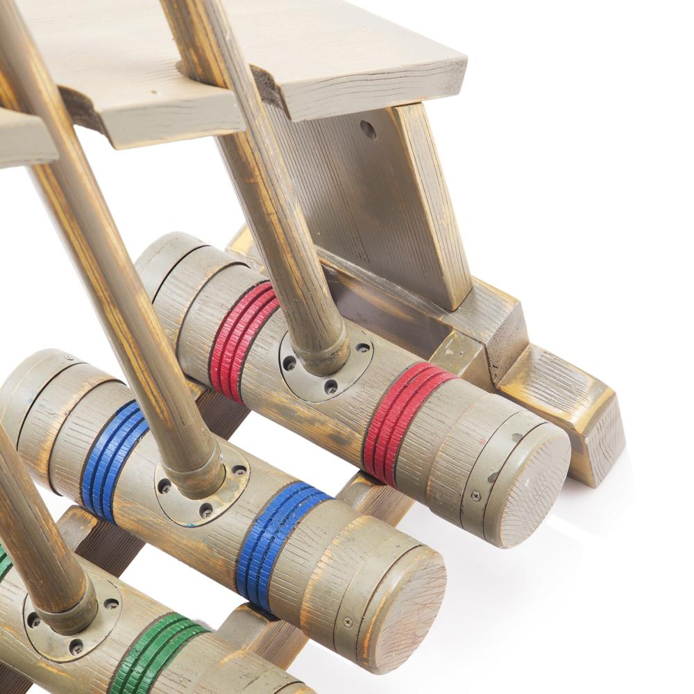 Croquet Set - Rustic