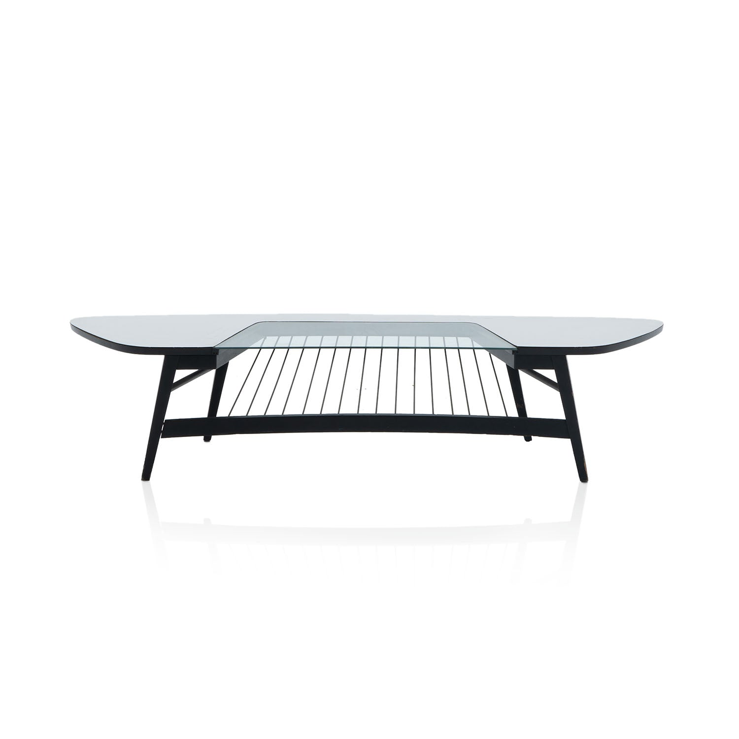 Image of: Black String Mid Century Coffee Table Modernica Props