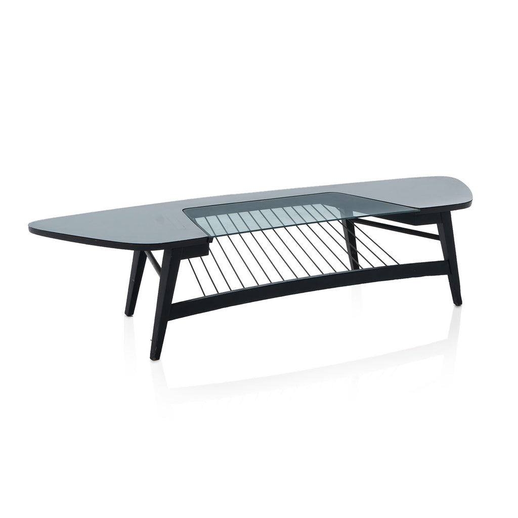 Black String Mid Century Coffee Table