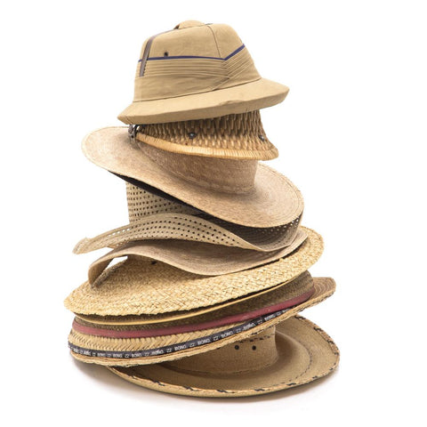 Assortment of Straw Hats