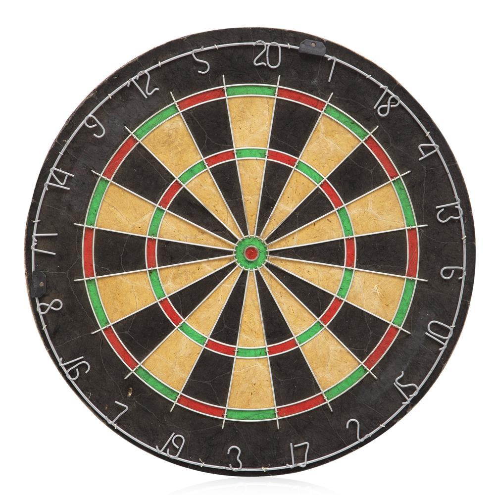 Black-Red-Green Dartboard