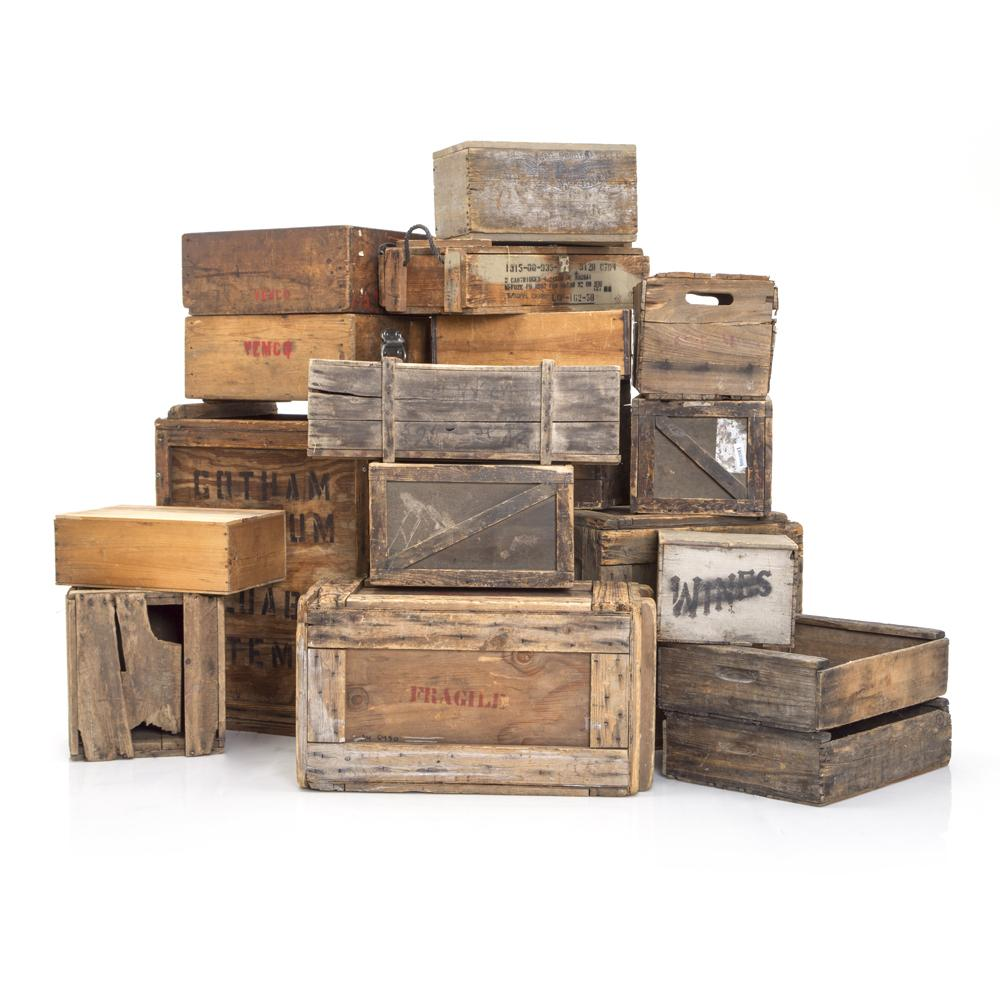 Assortment of Crates