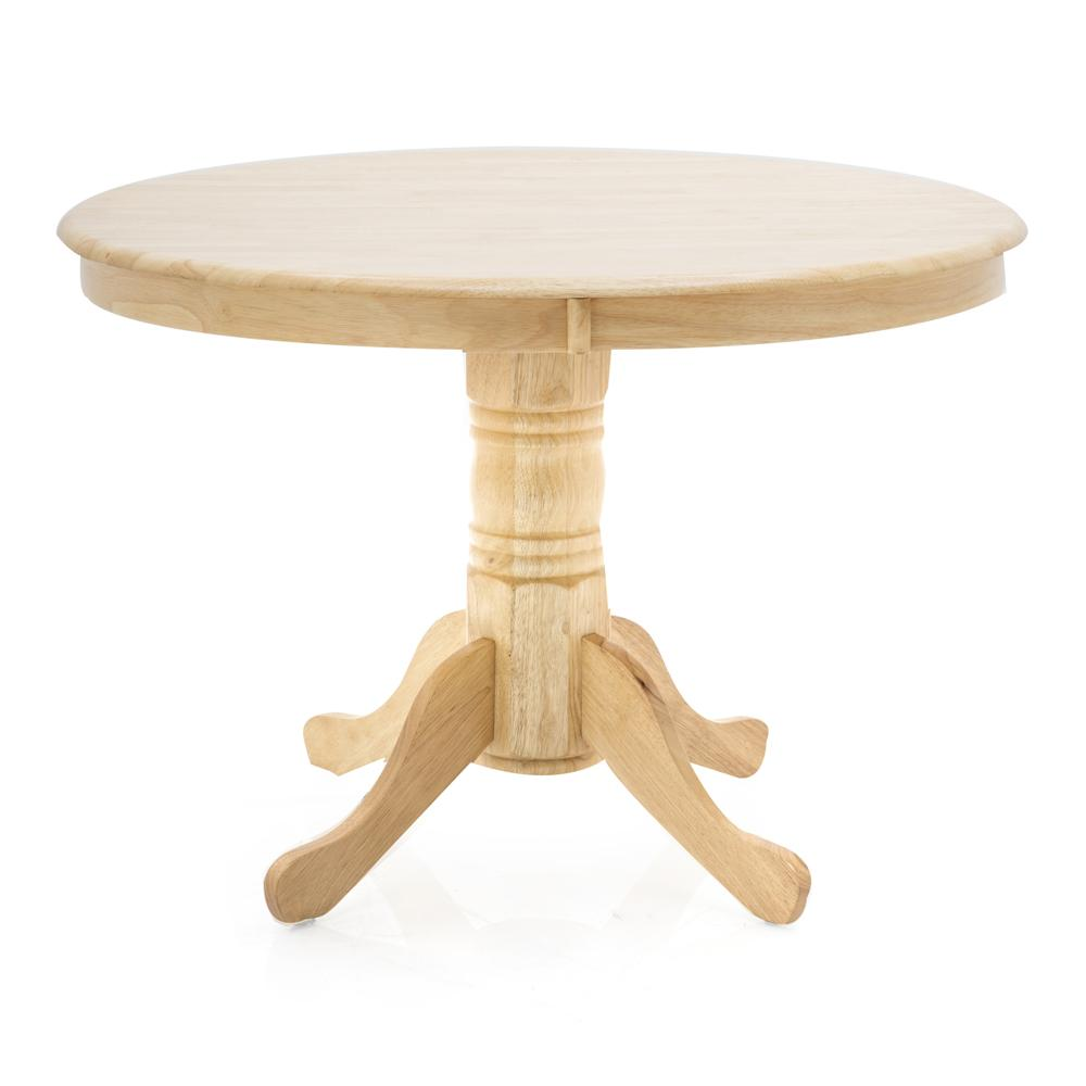 Light Wood Round Table