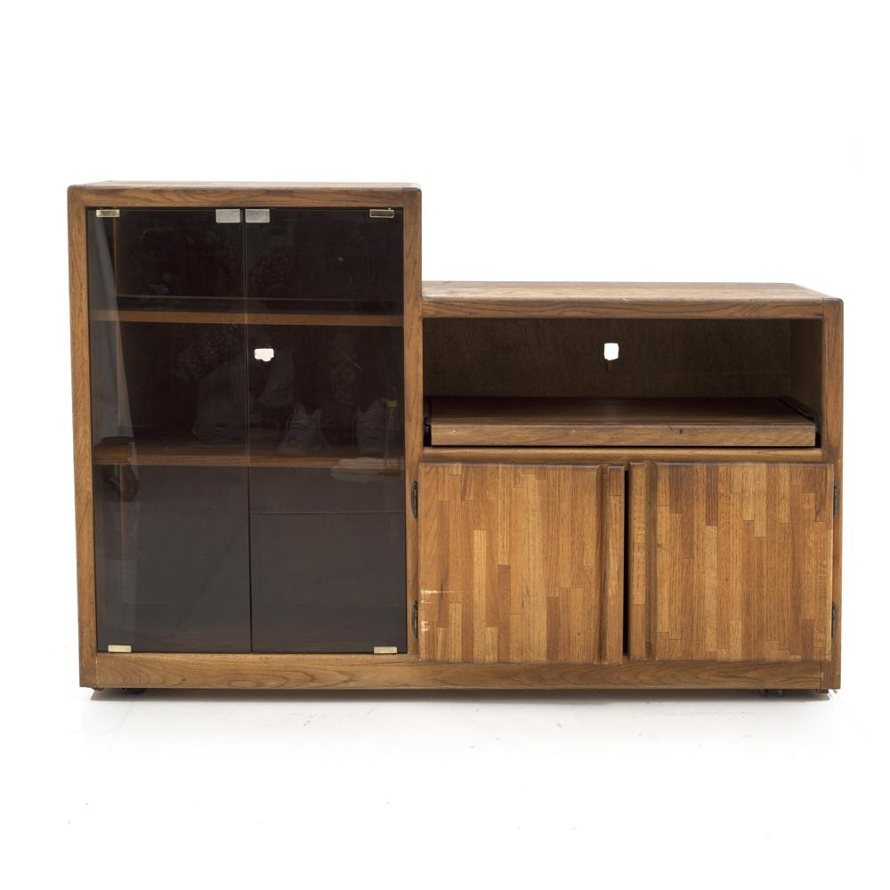 Wood Entertainment TV Console