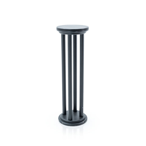 Black Four-Post Coulmn Pedestal