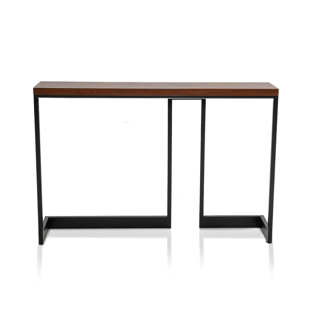 Contemporary Zebra Wood Console Table