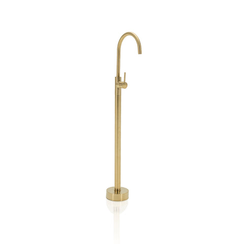 Gold Freestanding Bathtub - Faucet Only