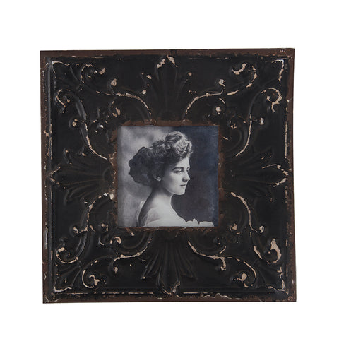 "BFA  100-902 Tin Vintage Woman (10.5"" x 10.5"")"