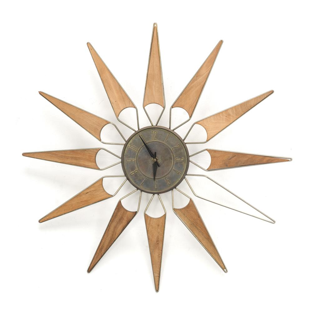 12 - Point Clock with Filigree