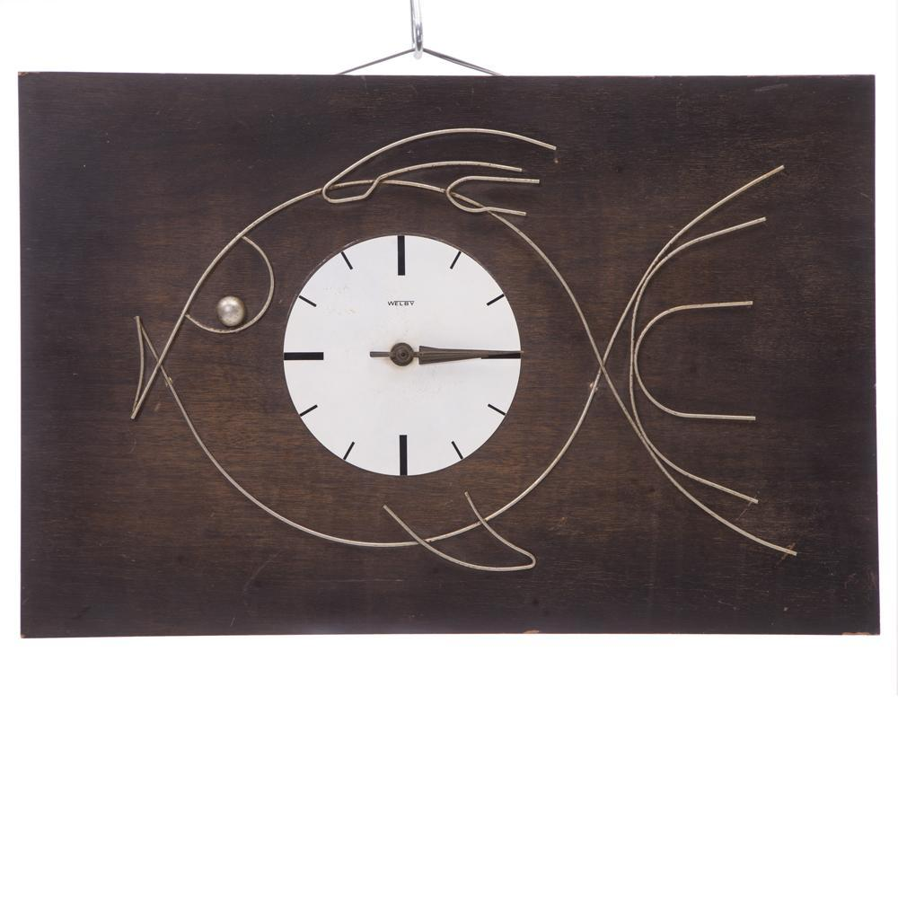 Welby Fish Motif Wall Clock