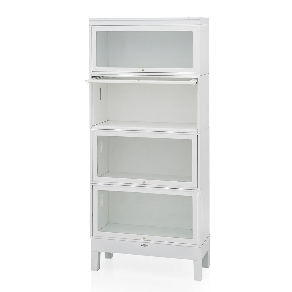 White Metal Medical Shelf