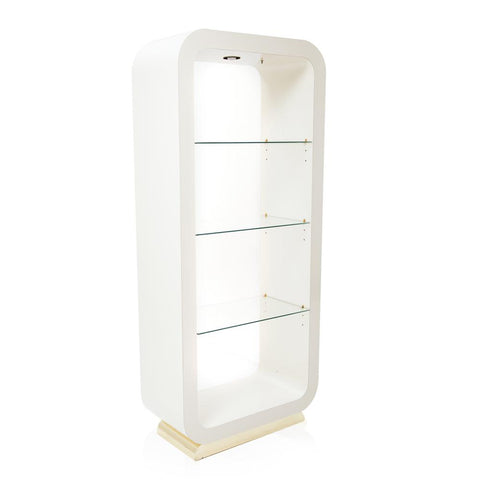 White Gold Bookshelf