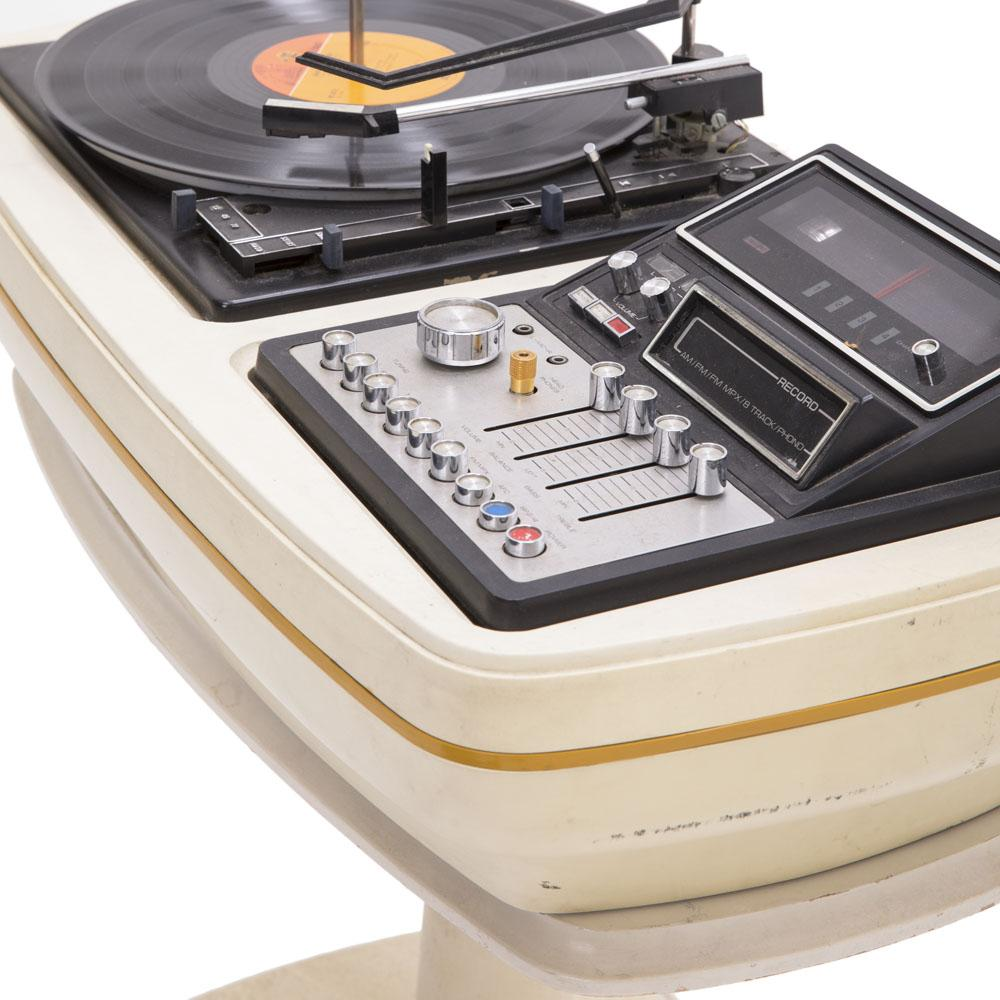 White Bass Record Player