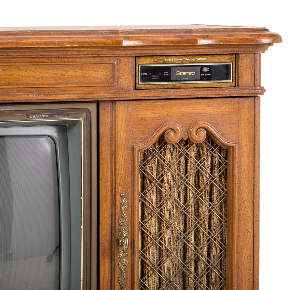 Zenith Wooden Television Console