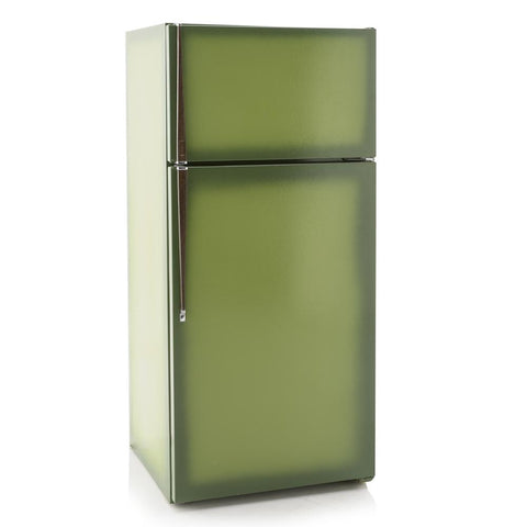 Avacado Colored Refrigerator