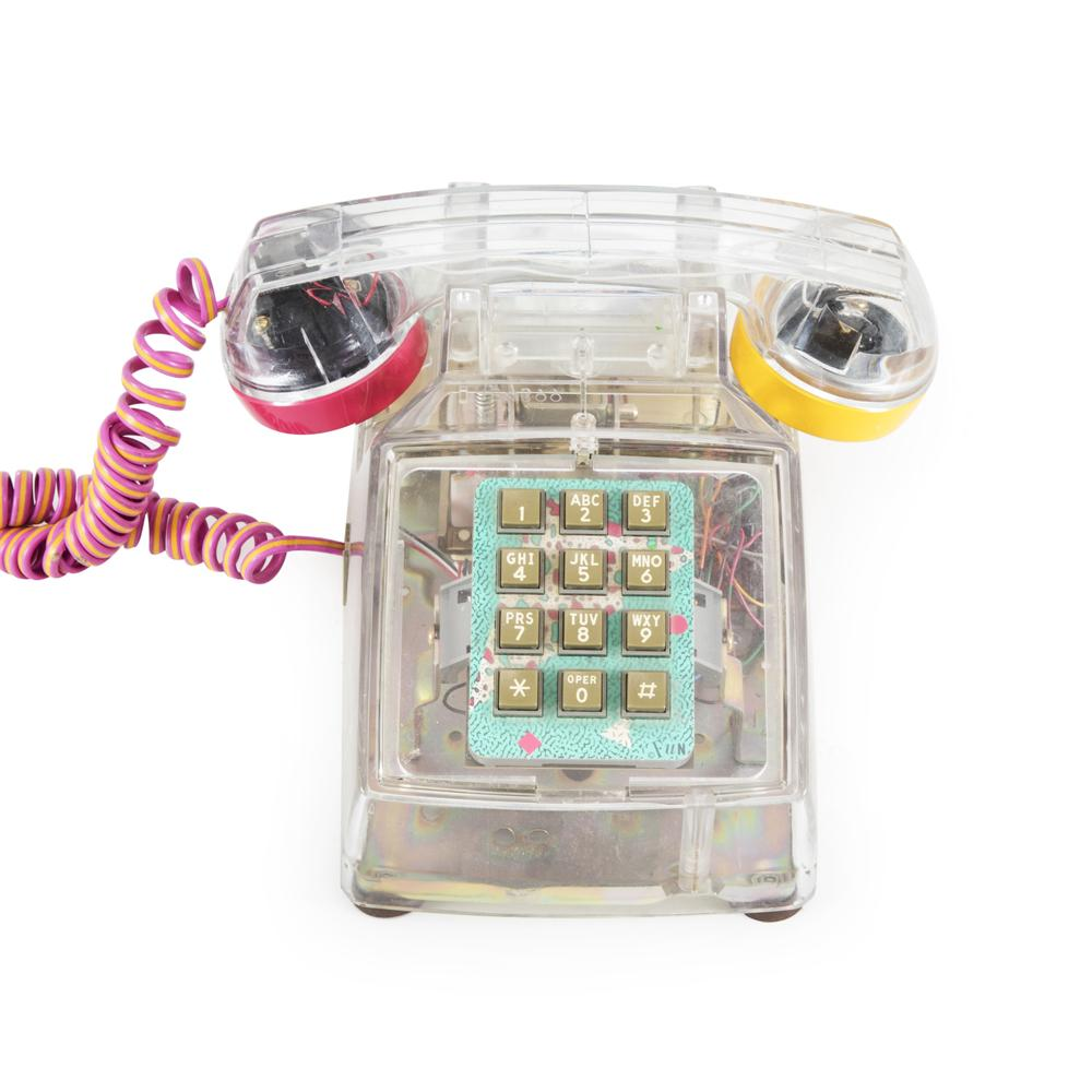 Clear Plastic Phone