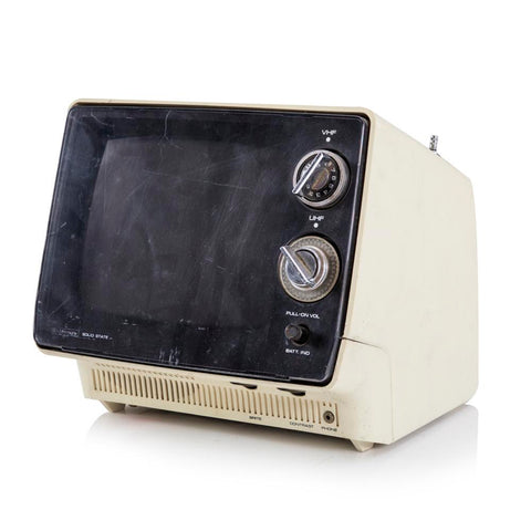 Beat Up Sony Solid State Portable Television