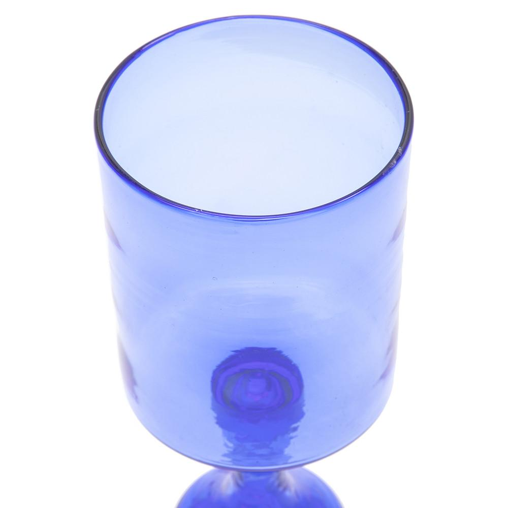 Blue Glass Cup