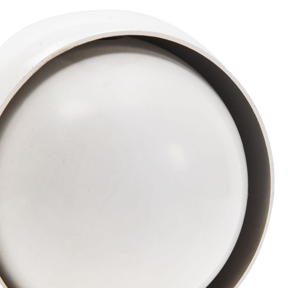 White Circular Eye Table Lamp