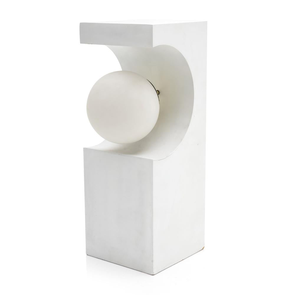 Modeline - White Rectangle Table Lamp