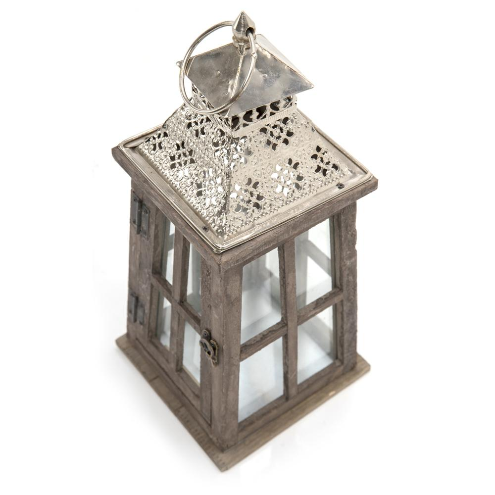 Antique Wooden Lantern