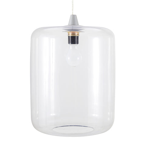 Clear Modern Glass Hanging Pendant Lamp