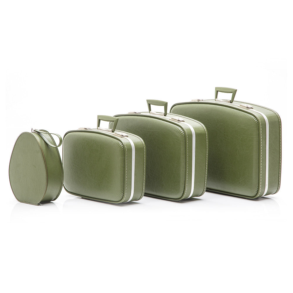 Green Luggage Set # 2
