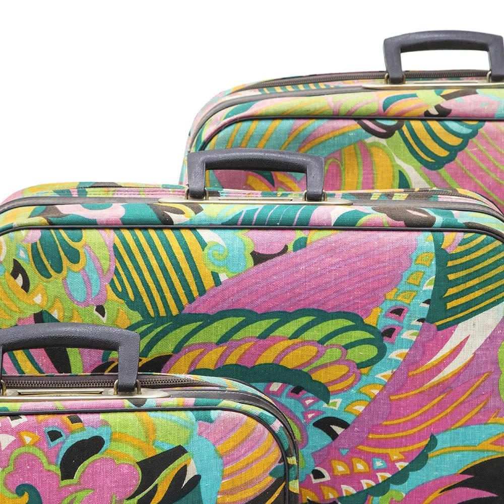 Hat Abstracts Luggage