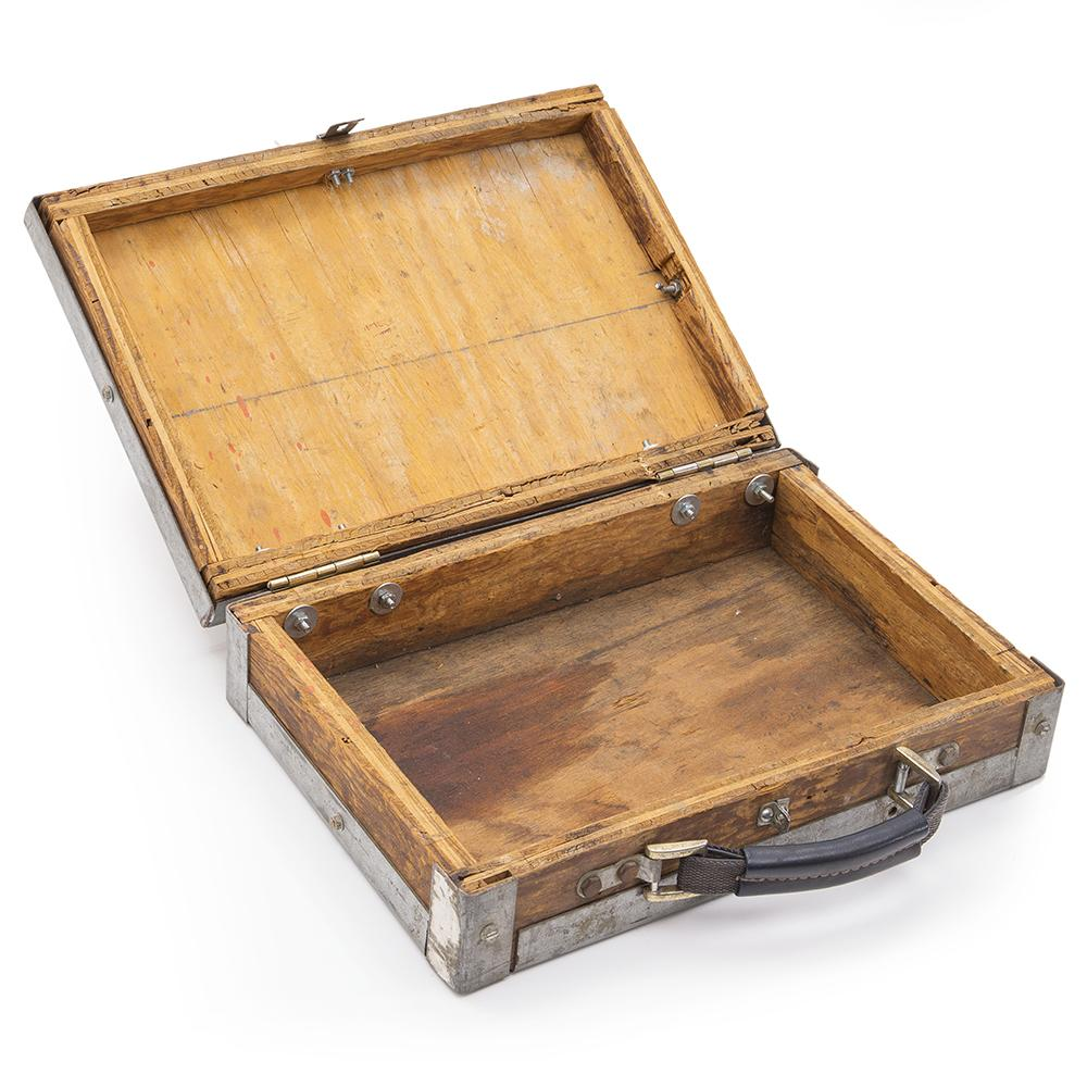 Briefcase - Wood and Metal