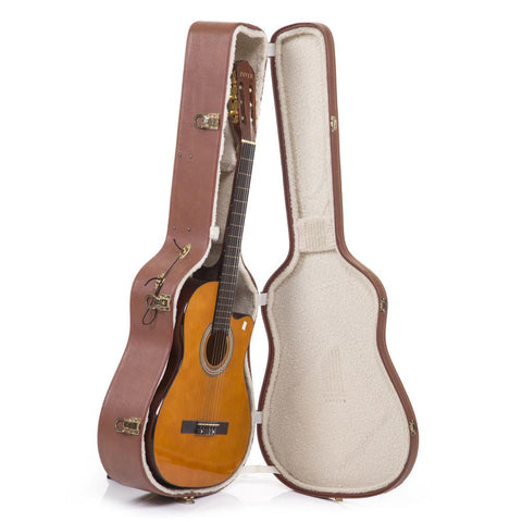 Acoustic  Guitar Brown Case