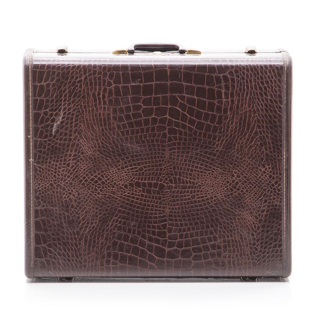 Alligator Skin Suitcase