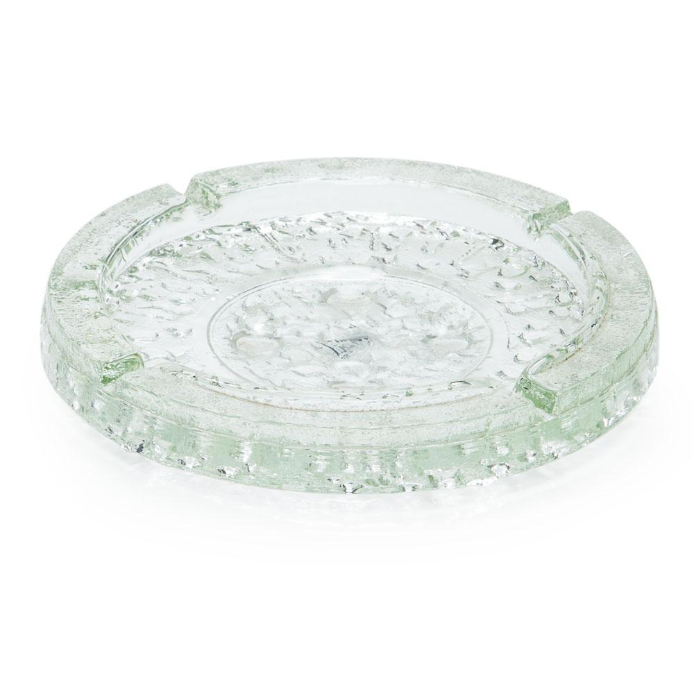 Circular Glass Ashtray