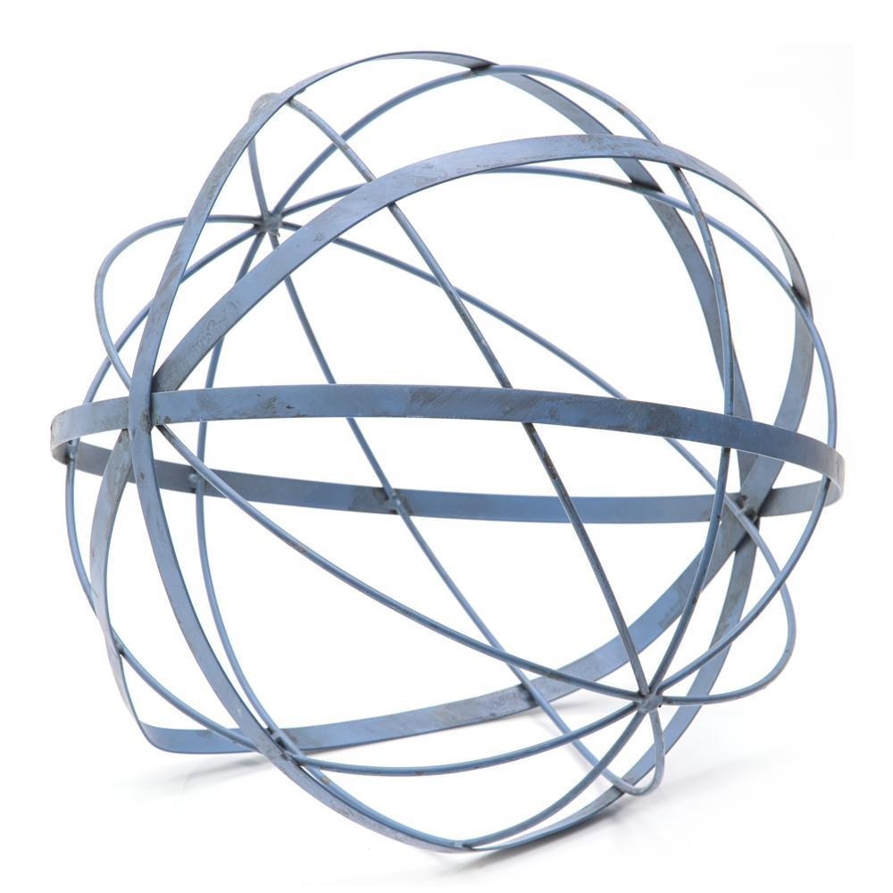 Blue Metal Sphere