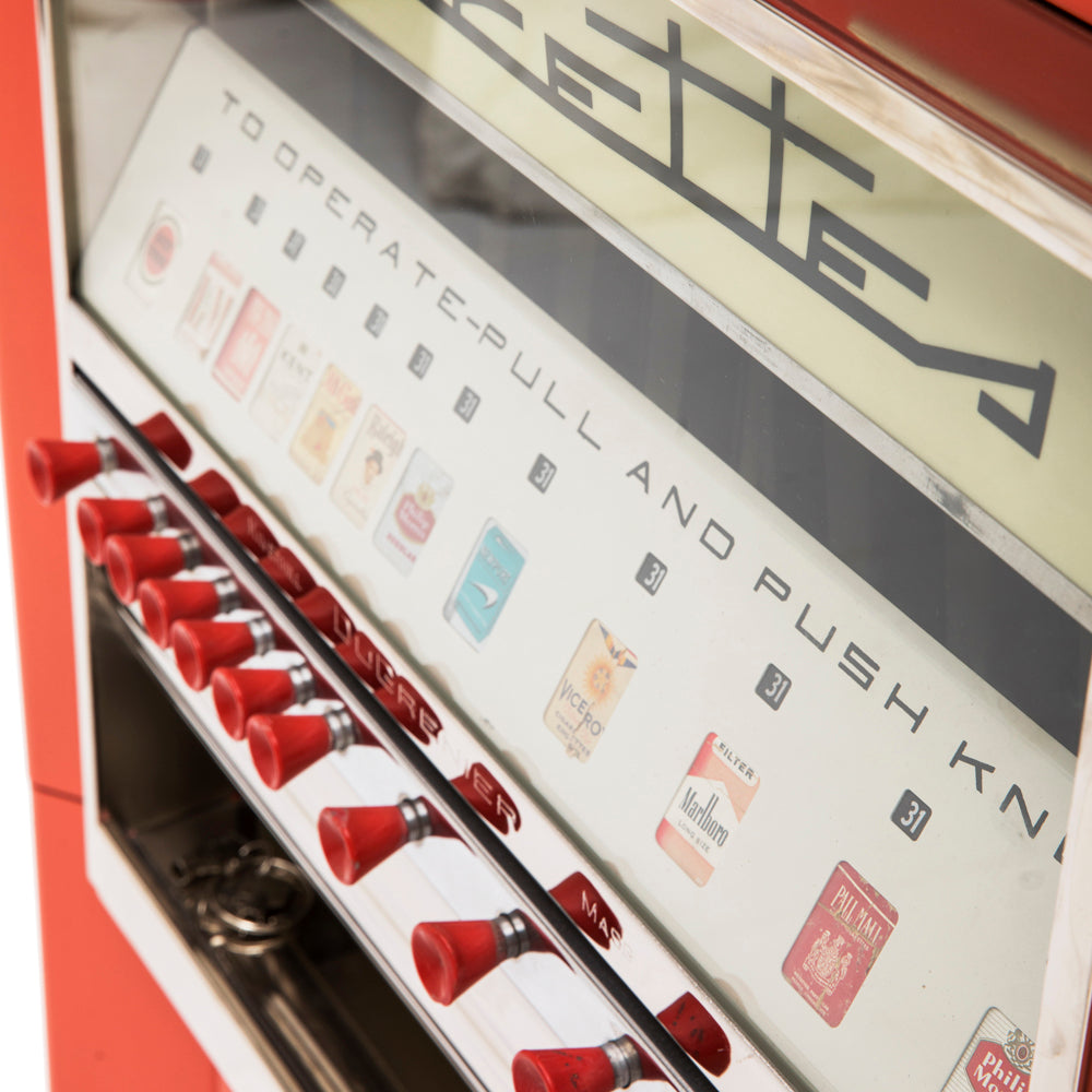 French Cigarette Vending Machine