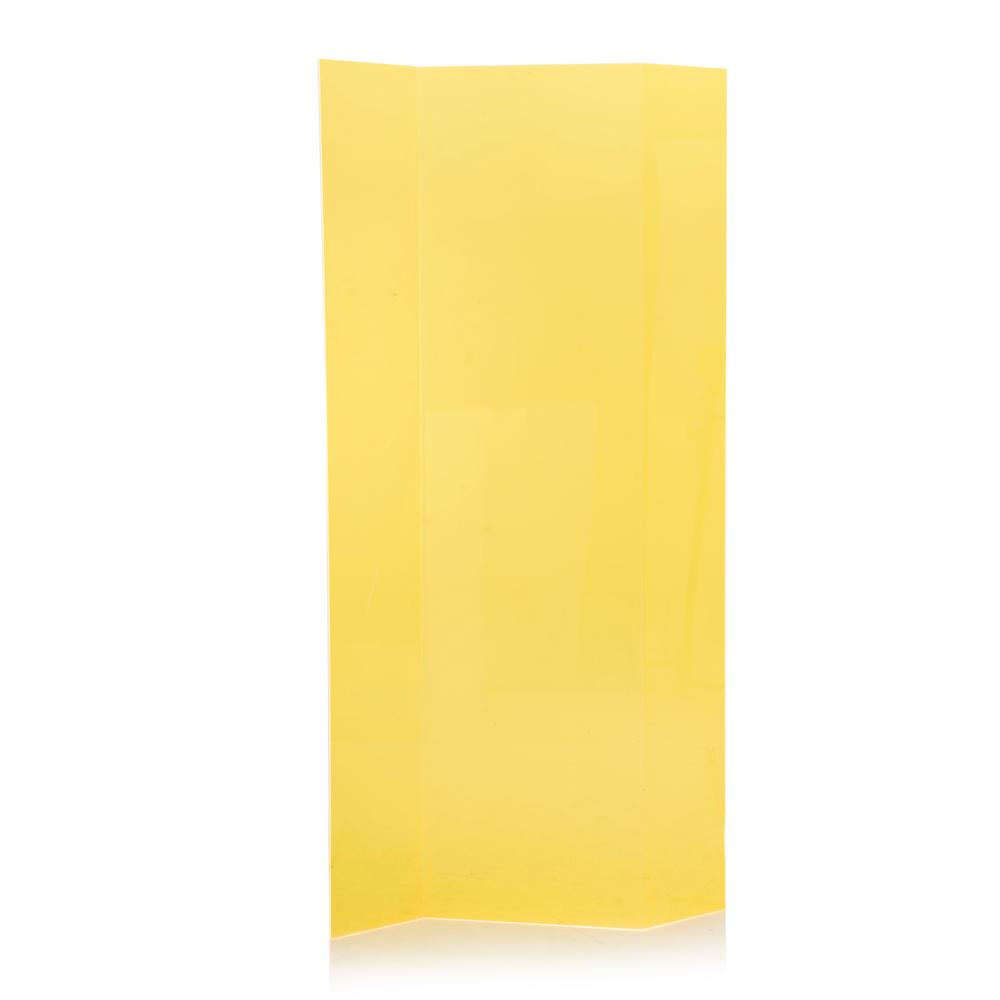 Plexi Screen Divider - Yellow
