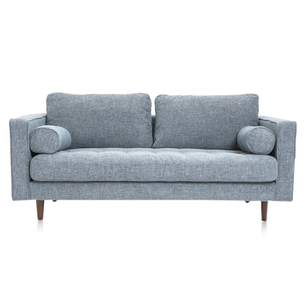 Blue-Grey Modern Apartment Sofa