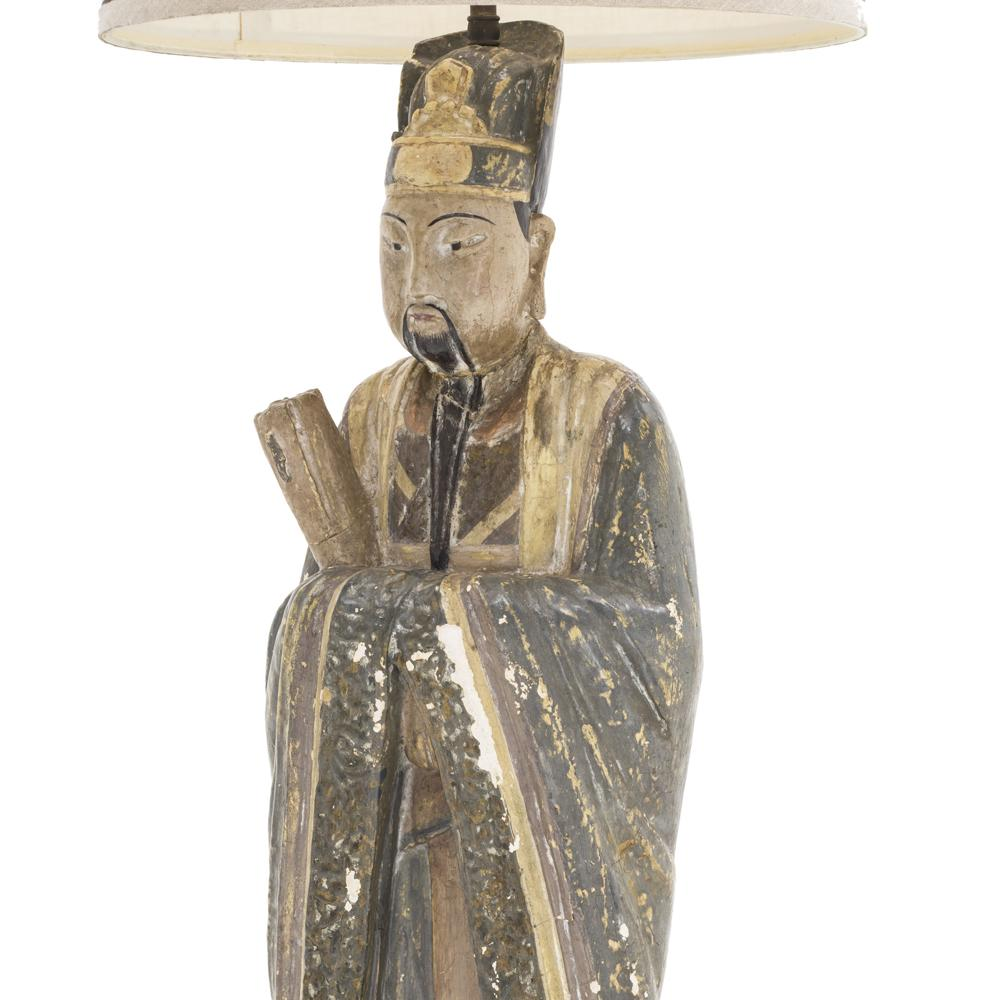 Asian Man Table Lamp